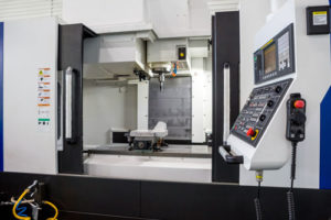 CNC operated 4-axis vertical machining centers